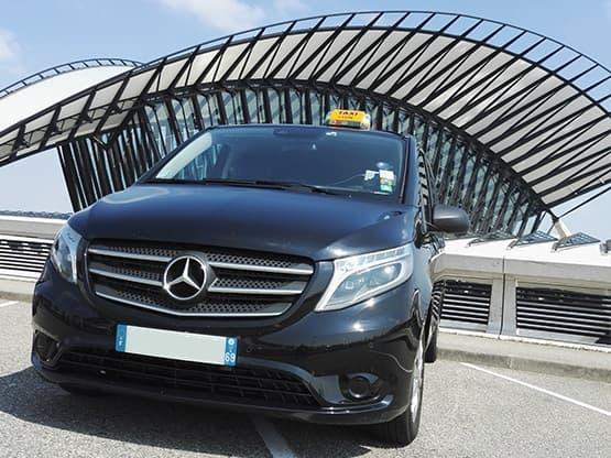 Vos déplacements en Taxi depuis et vers l'Aéroport de Lyon